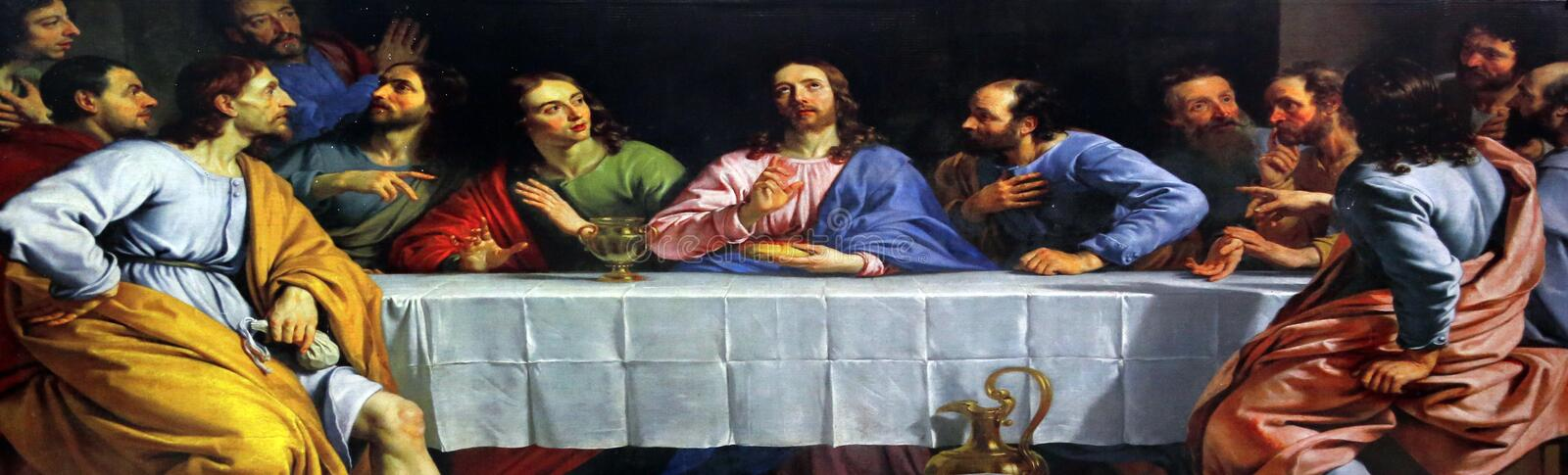 Last Supper royalty free stock photos