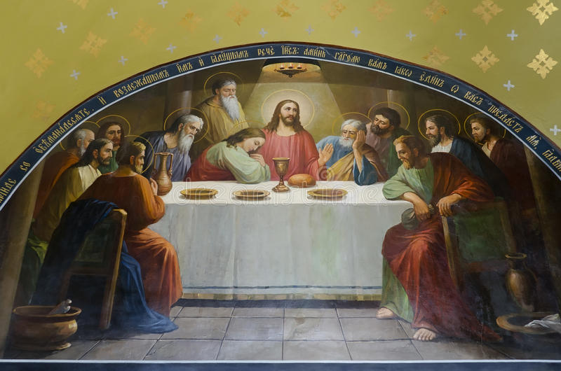 Download The Last Supper - Christ's Last Supper Royalty Free Stock Image - Image: 27611176
