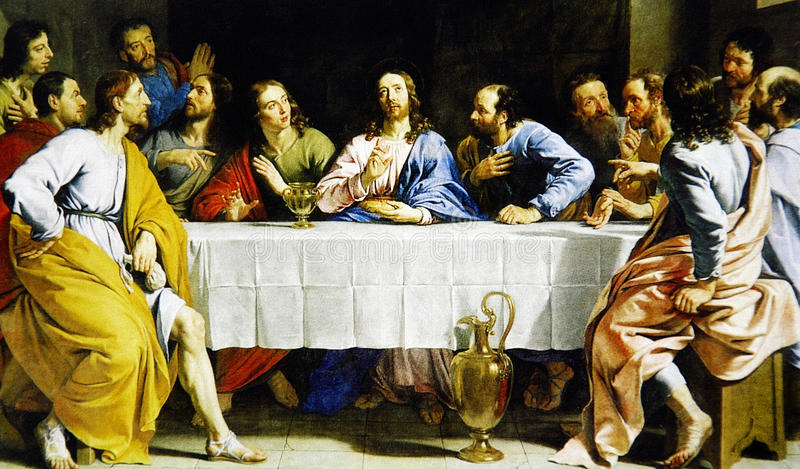 The Last Supper stock photography