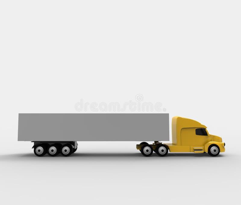 lastbil vektor illustrationer