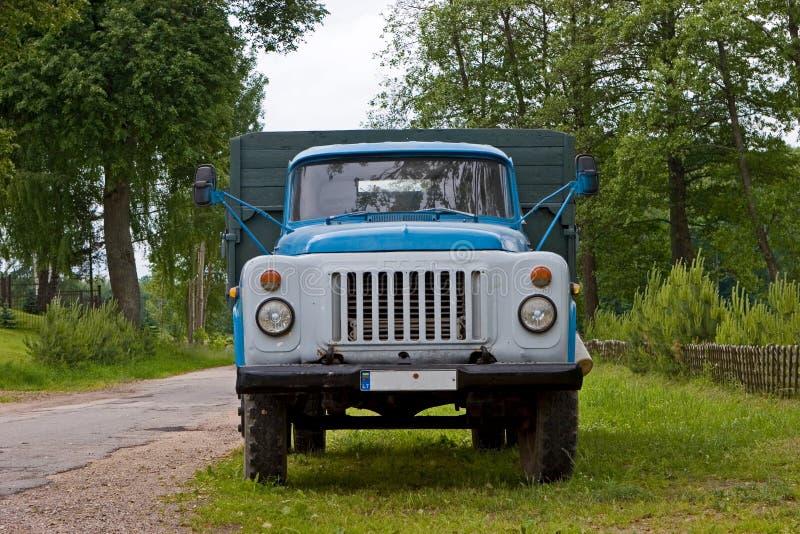 Lastbil För 53 Gaz Arkivfoto