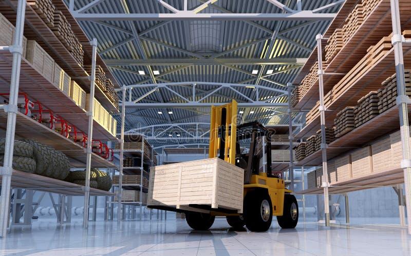 lastbil för lägre del för lastdetalj vektor illustrationer