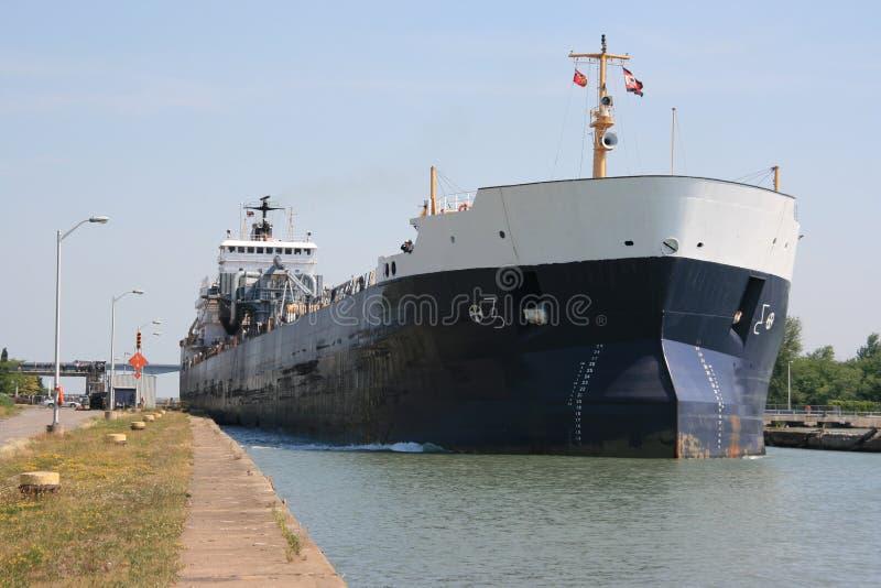 lastfartyg royaltyfri fotografi