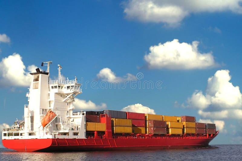 lastfartyg arkivfoton