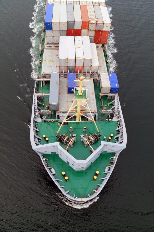 lastfartygvaquitawarnow royaltyfria foton