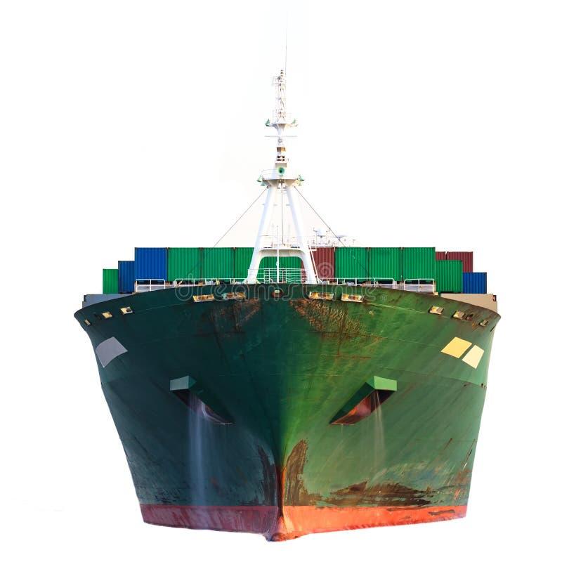 Lastfraktskepp royaltyfria foton