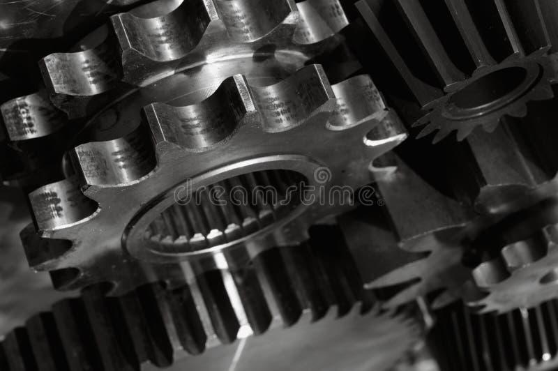 Lastgetriebe in der Aktion lizenzfreie stockfotografie