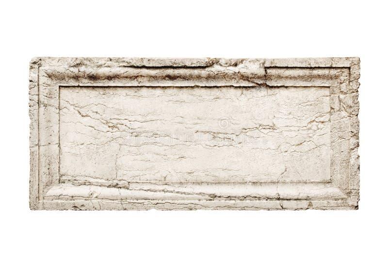 Lastra di pietra immagine stock