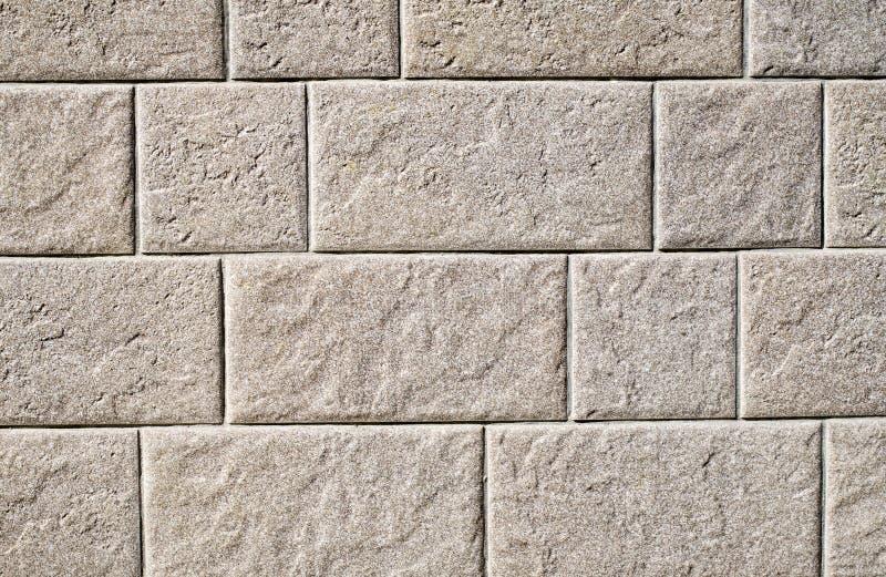 Lastre decorative del rivestimento di sollievo che imitano granito sulla parete fotografia stock libera da diritti