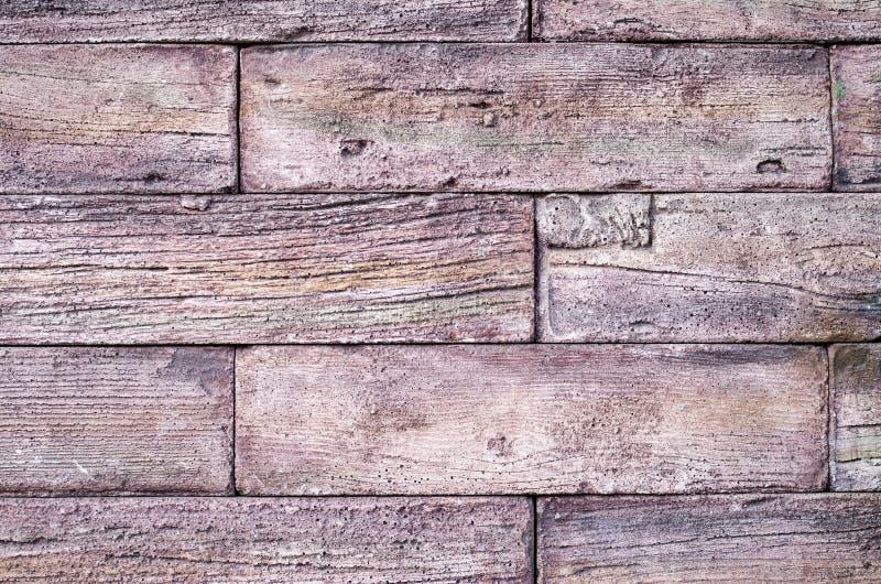 Lastre decorative del rivestimento di sollievo che imitano vecchio legno fotografia stock libera da diritti