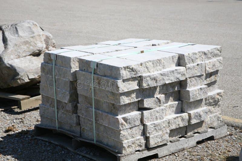Lastre del granito di Grey Stone immagini stock