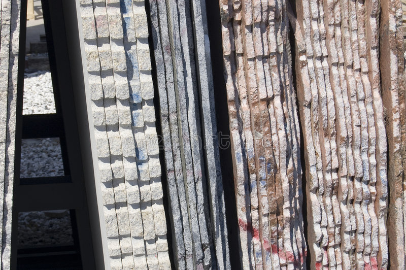 Lastre di marmo fotografia stock