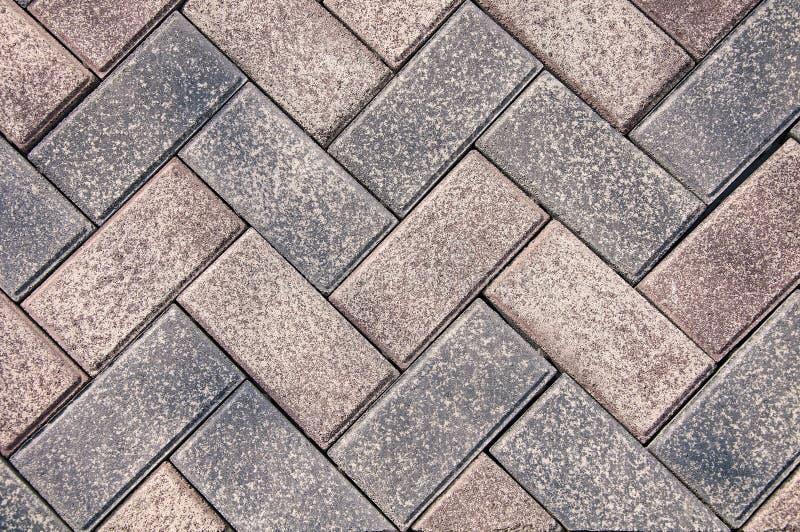 Lastre per pavimentazione grige e grigio scuro, dopo la pioggia La struttura ed i precedenti della pietra fotografia stock