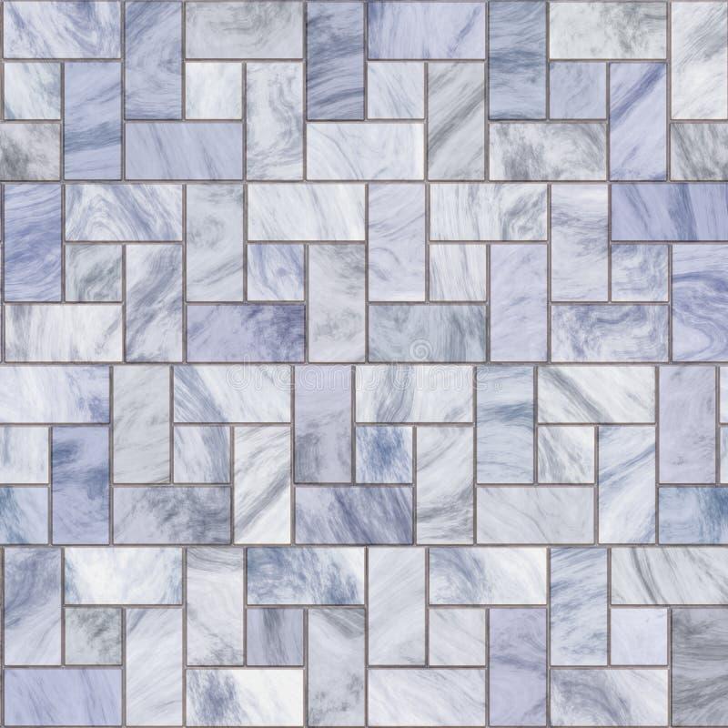 Lastricatori o mattonelle di marmo illustrazione vettoriale