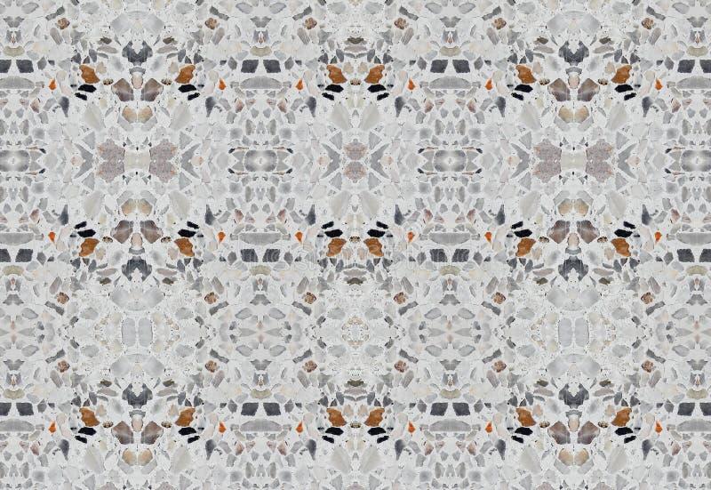 Lastryko podłoga lub Marmurowa Kamiennej ściany tekstura Bezszwowi, dla tła fotografia stock