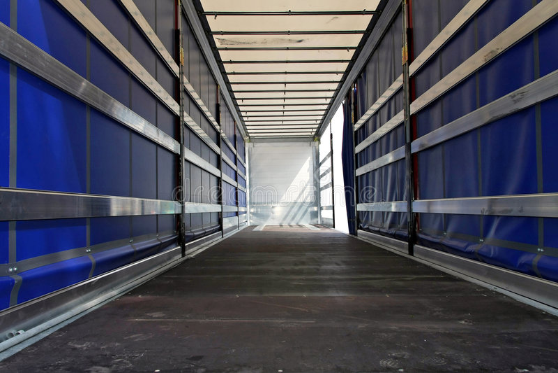 Lastwagen horizontal stockfotografie