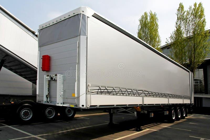 Lastwagenschlußteil stockbilder