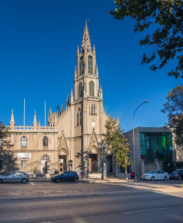 Lasu Carmelitas Farny kościół - Vina Del Mącący, Chile obrazy royalty free