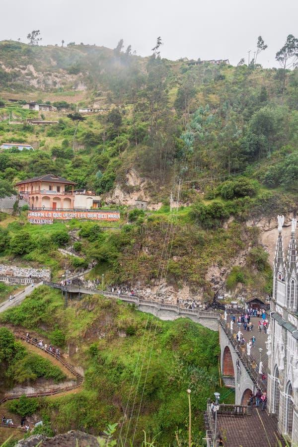 Lasu Lajas sanktuarium Budujący W Gockim odrodzenie stylu obrazy royalty free