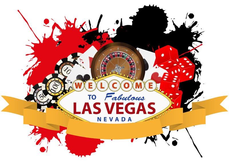 Lasu Vegas faborek royalty ilustracja