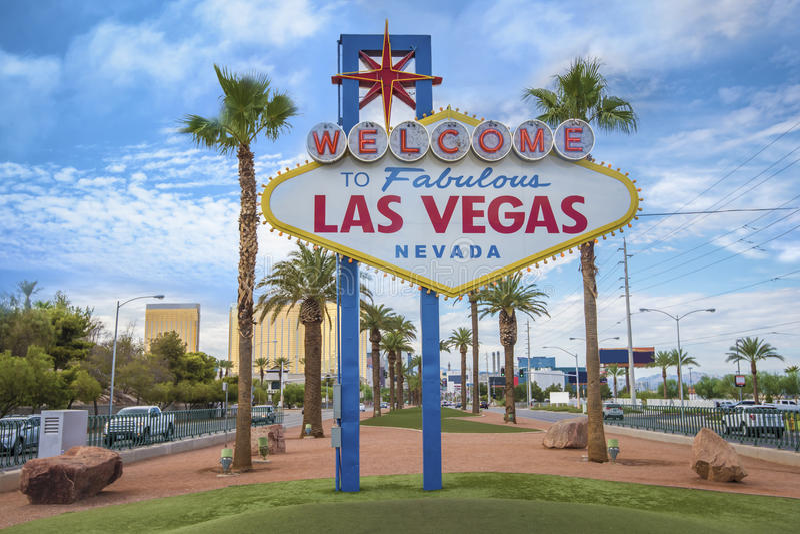 lasy podpisują Vegas zdjęcia royalty free
