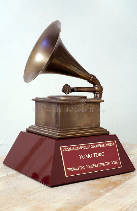 Latín Grammy de Yomo Toro imagen de archivo