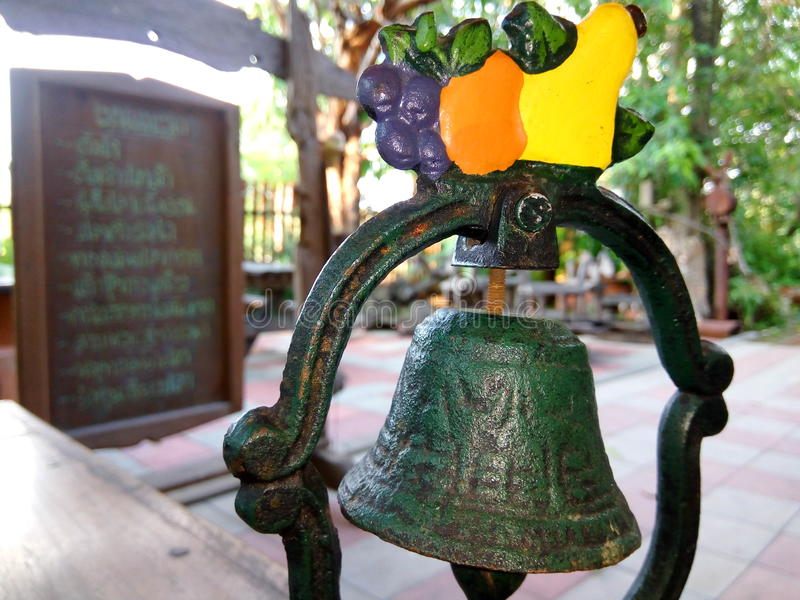 Latón de Bell fotos de archivo