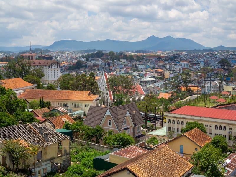 Lat del Da di paesaggio urbano, Vietnam fotografia stock