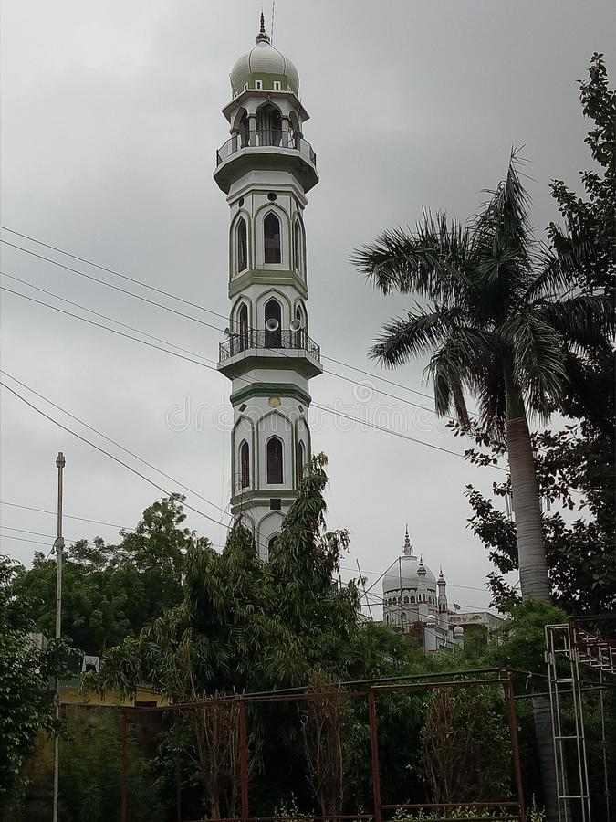 A Lat. Of famous idgah in India royalty free stock photos