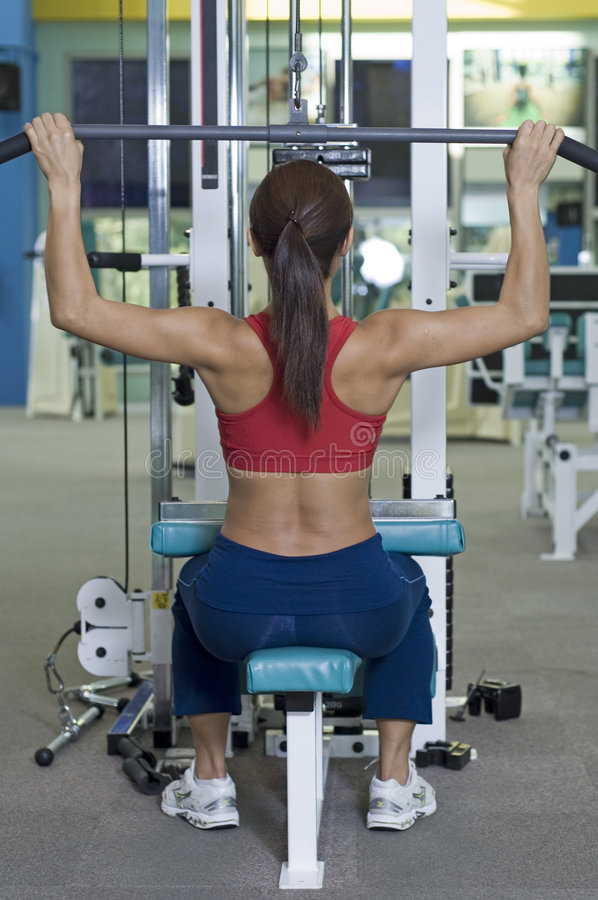 Download Lat Pulldown Royalty Free Stock Images - Image: 150299