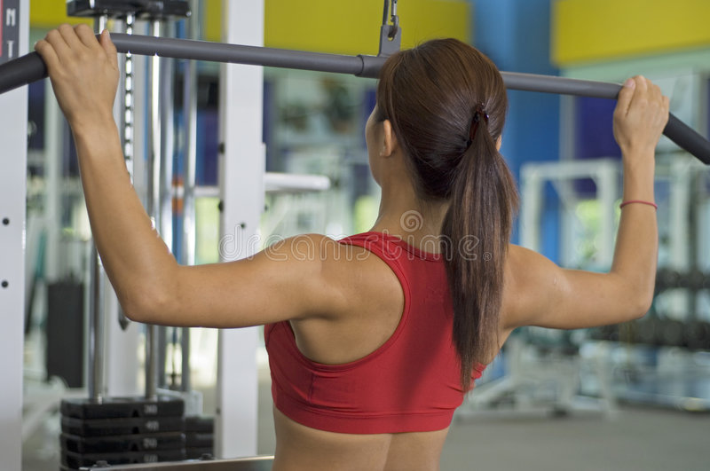Lat Pulldown royalty free stock images