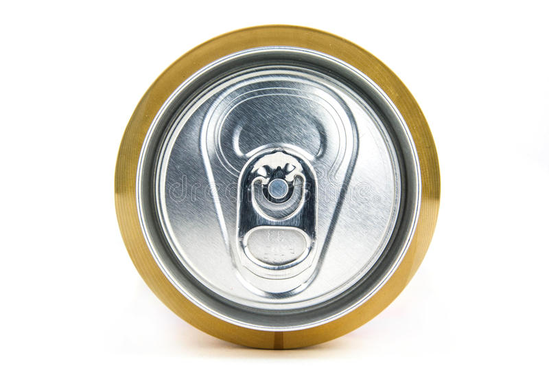 Lata de cerveza imágenes de archivo libres de regalías