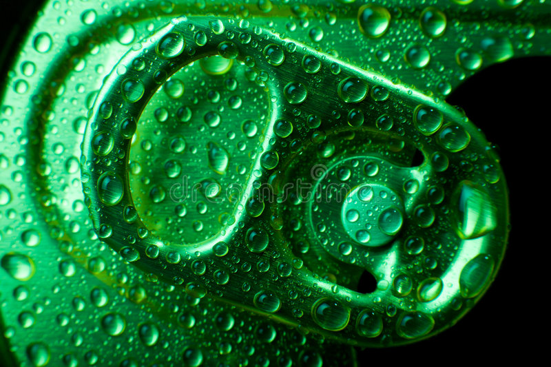 Lata de soda fotografia de stock royalty free