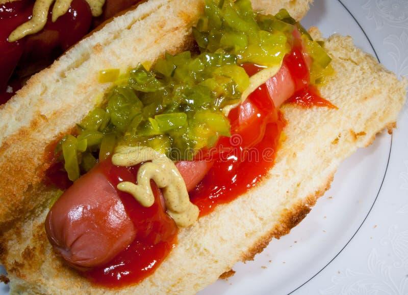 Lata Hotdog obraz stock