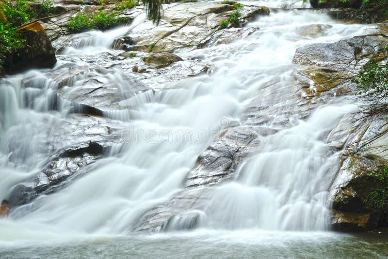 Lata Kinjang Waterfall photographie stock