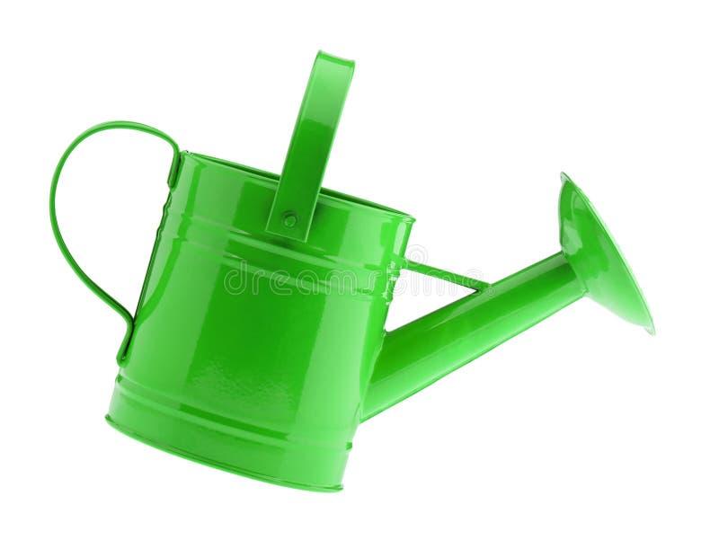 Lata molhando verde imagens de stock