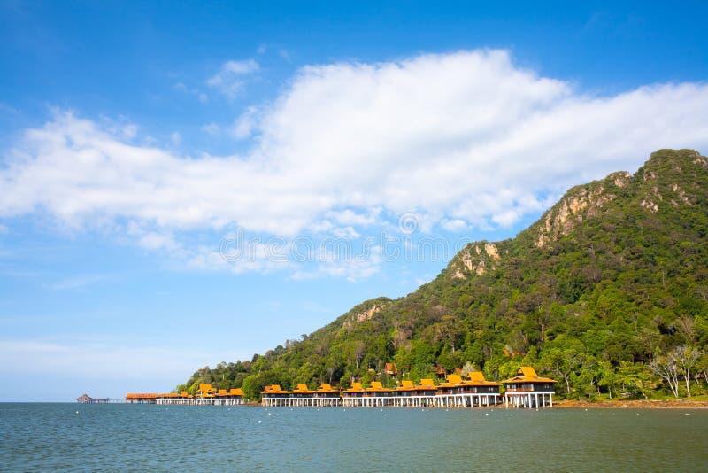 Lata morze, góra i niebo w Langkawi, zdjęcia royalty free