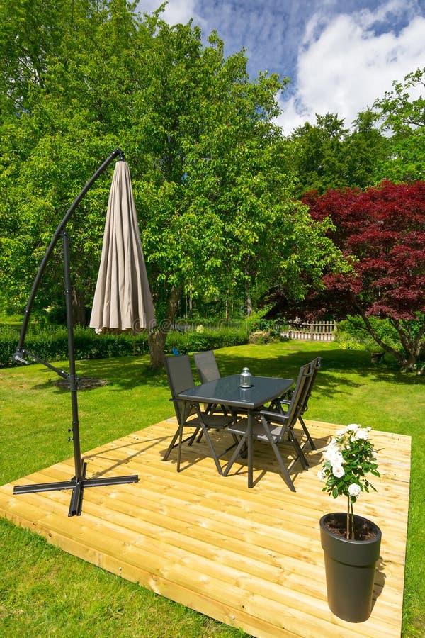 Lata ogrodowy pojęcie fotografia stock