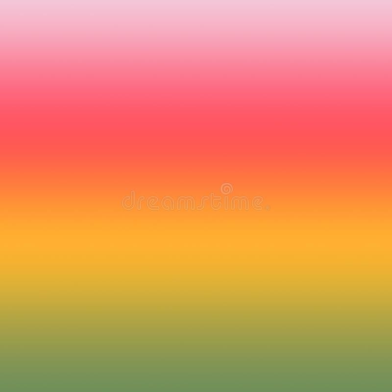 Lata tła Ombre Kolorowy Gradientowy Wielo- Barwiony wzór royalty ilustracja