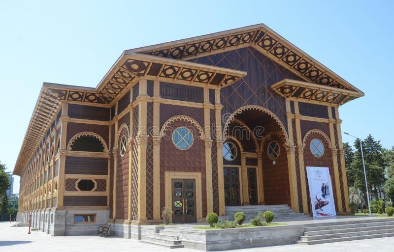 Lata theatre w Batumi, Gruzja fotografia royalty free