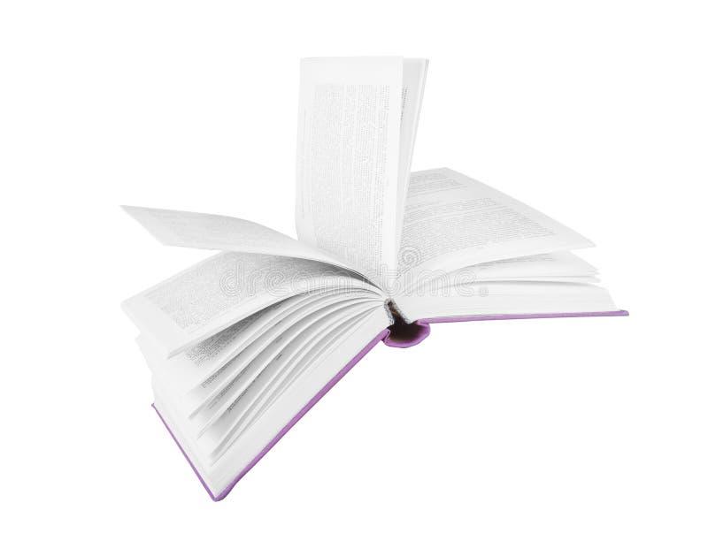 Latająca książka zdjęcie stock