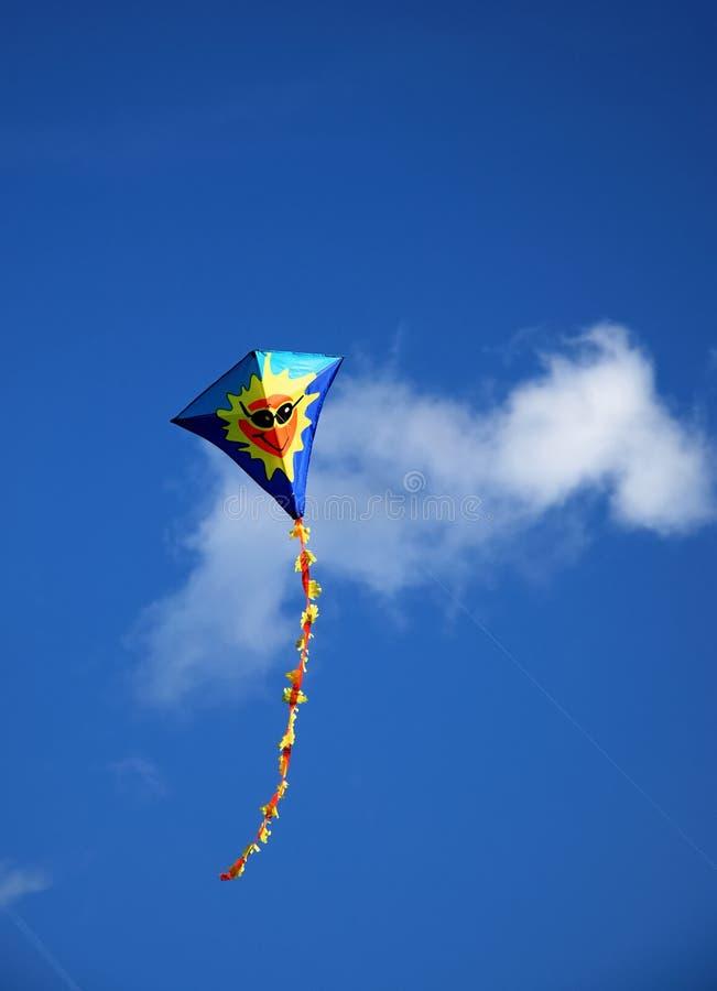 latająca latawiec zdjęcie stock