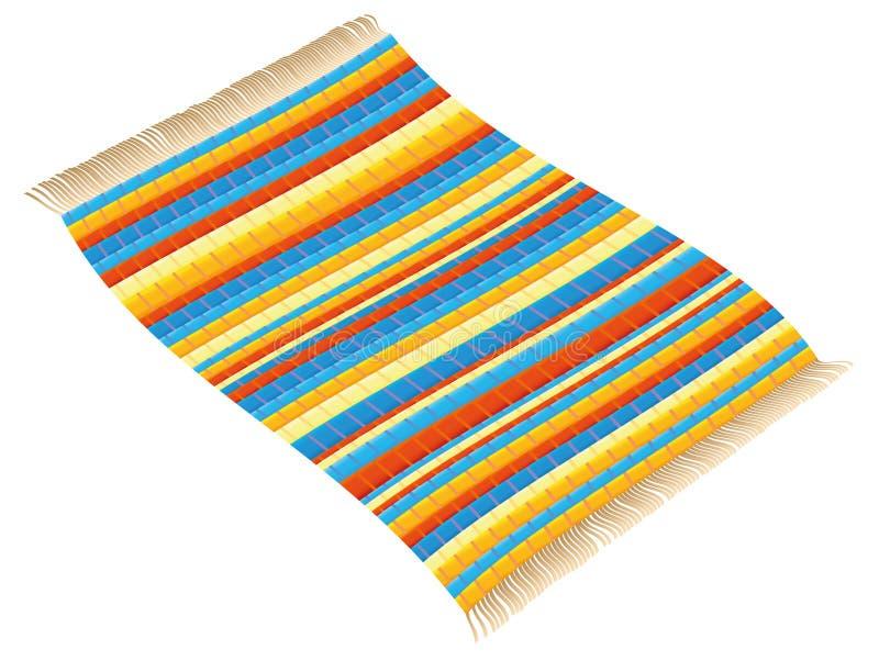 Latający Gałganianego dywanika dywan royalty ilustracja