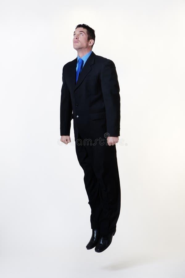 Latający mężczyzna zdjęcie royalty free