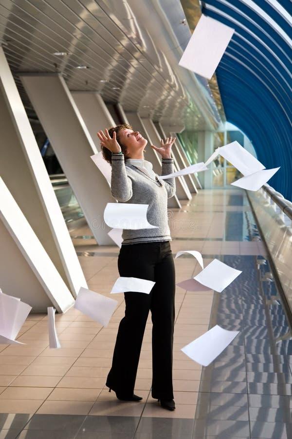 latający papier obrazy royalty free