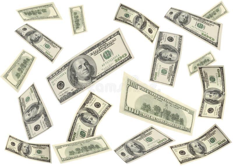latający pieniądze ilustracja wektor