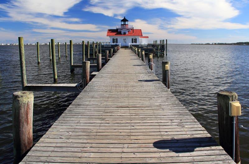 latarni morskich bagna Roanoke zdjęcia stock