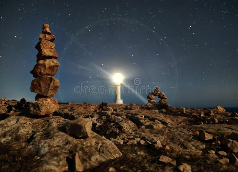 Latarni morskich gwiazdy obrazy royalty free