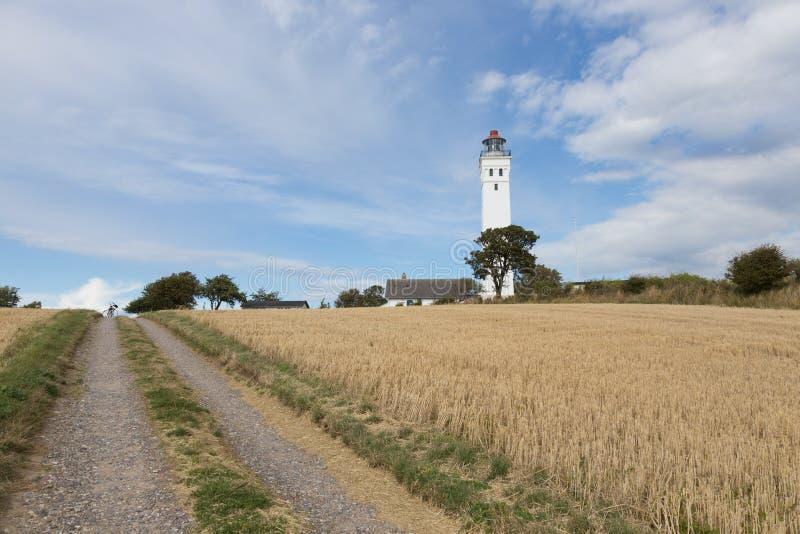 Latarni morskich południe Langeland obrazy stock