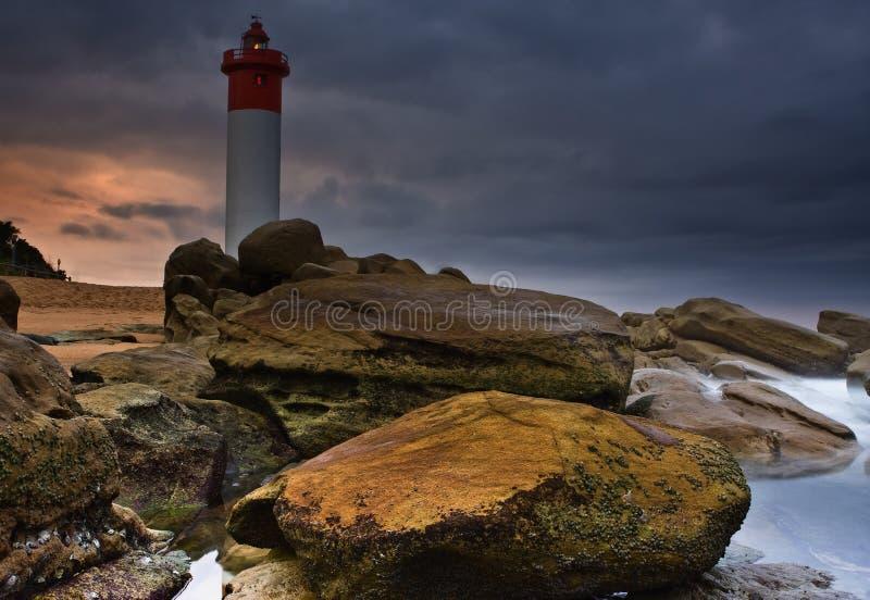 latarni morskich skały zdjęcie royalty free